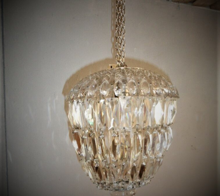 Kristall lampa
