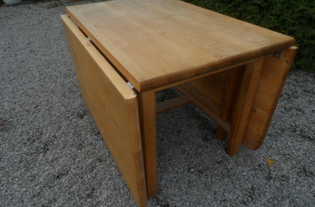 Slagbord, stort i oljad bok
